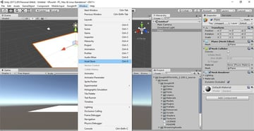 Opening the Asset Store