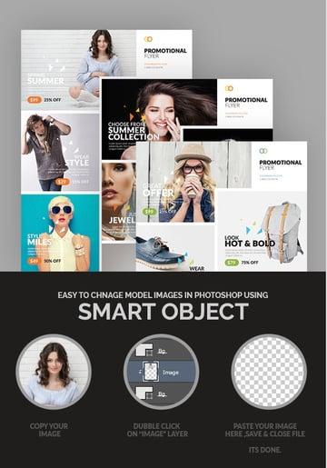 Promotional Business Flyer Template Design