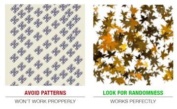 Patterns on ImageTarges