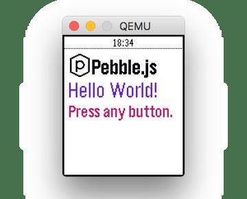 Hello Pebblejs Boilerplate App