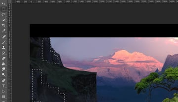 Creating selections on the image