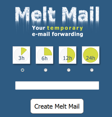 Meltmail Disposable Email
