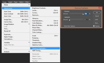 Adding filters to overlay smart object