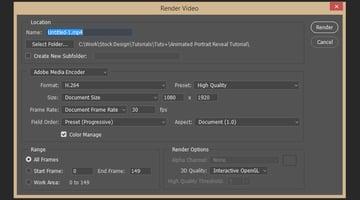 Rendering Video