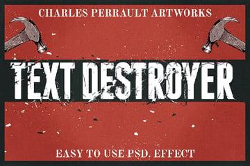 httpsgraphicrivernetitemtext-destroyer8197338