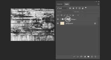 Adding texture as layer mask
