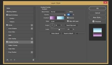 Creating gradient overlay