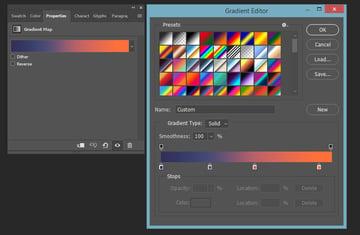 creating gradient map overlay