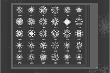 httpsgraphicrivernetitem30-snow-decorations-brushes-2000px6316199