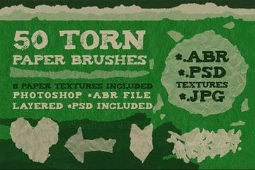 httpsgraphicrivernetitem50-torn-paper-brushes-8-textures5462654