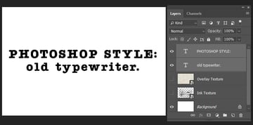 creating text layers
