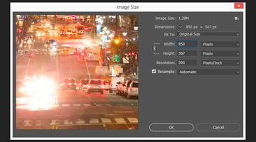 How to Reduce GIF Size Tutorial Resizing the image size