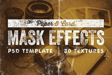 Paper Card Mask Effects