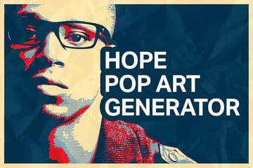 Hope Pop Art Generator