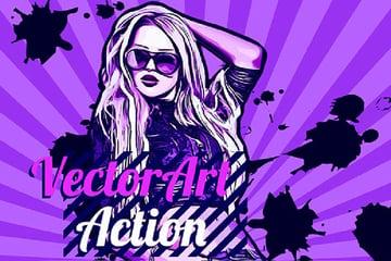 VectorArt Photoshop Action