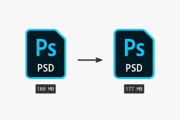 maximize compatibility off method file size comparison