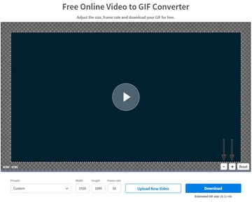 moving the video in the converting