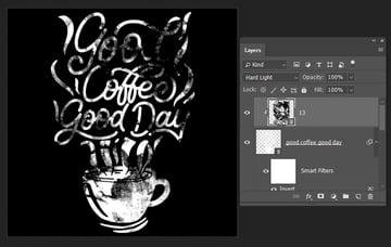 changing the blending mode of the layer
