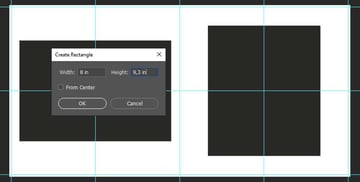 creating the second shape for the second page layout