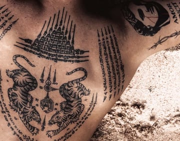 different lettering tattoo styles