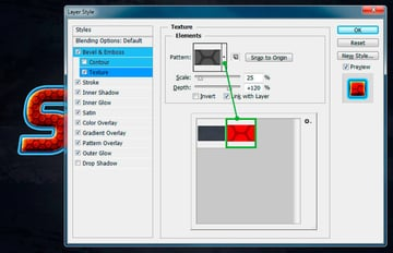 Add a Texture to Layer Style