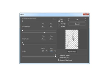 Adding distort wave filter to Layer 2