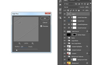 Adding filter other high pass to Layer 1