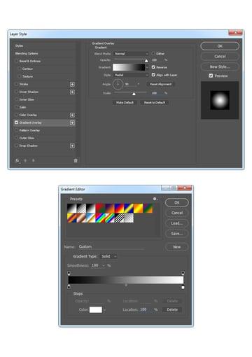 Adding layer style