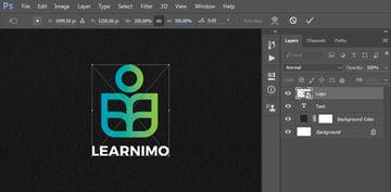 Transforming the logo