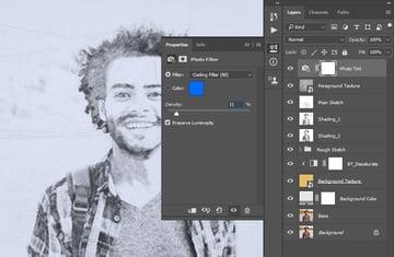 Adjusting photo filter