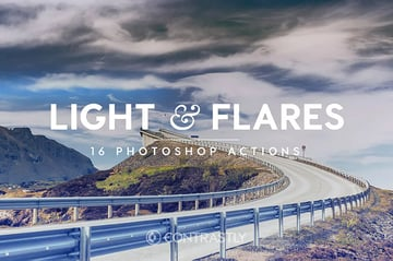 Light  Flares Photoshop Actions