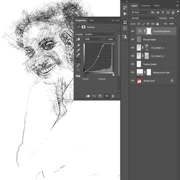 adjusting curves