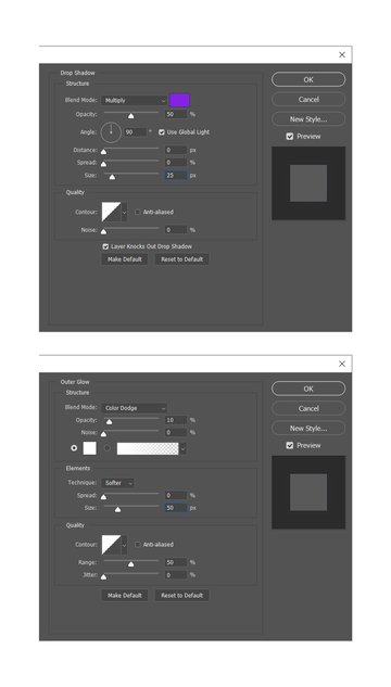 adding layer styles
