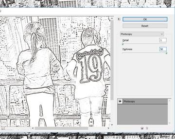 Photocopy Photoshop Filter