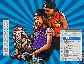 Colorize Photo in Photoshop