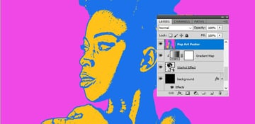 Merge Visible Layers in Photoshop