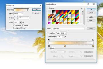 Edit Gradient Fill Color Tones
