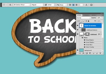 Text Layer in Photoshop