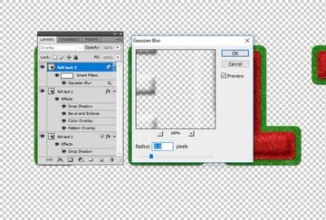 Gaussian Blur Photoshop Filter