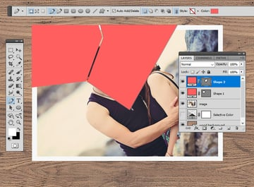 Create a Shape with Pen Tool
