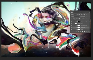 Increasing contrast and using adjustments layers to make your colors pop