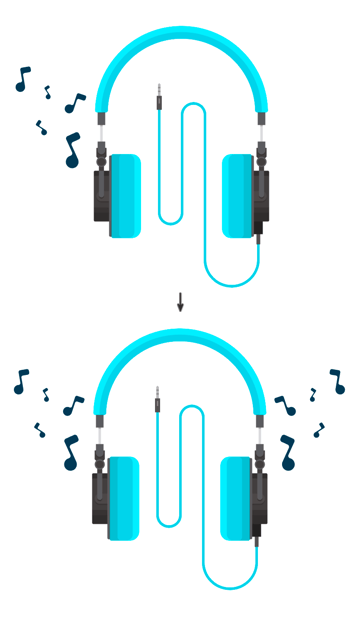 Duplicating musical notes in the background with Selection Tool
