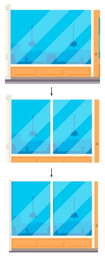 Windows divisions