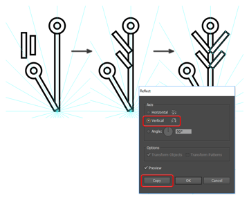add more details to the snowflake segments