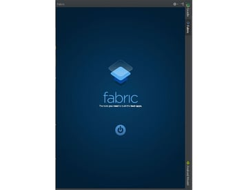 Fabric welcome screen in Android Studio
