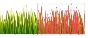 Copying the grass patch - do not leave white spaces