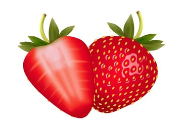 move the strawberries