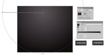 gradient rectangle