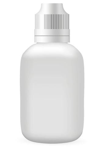 plastic bottle vector