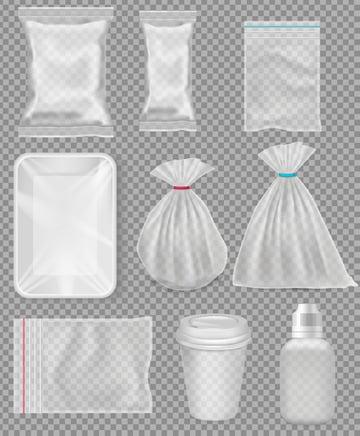 transparent plastic Polypropylene packaging tutorial gradient mesh adobe illustrator